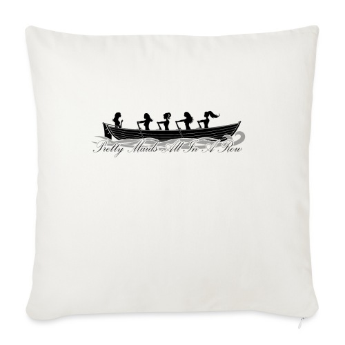 pretty maids all in a row - Sofa pillow with filling 45cm x 45cm