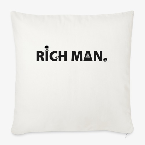 Rich Man Series - Sofa pillow with filling 45cm x 45cm