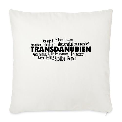 Transdanubien - Sofakissen mit Füllung 44 x 44 cm