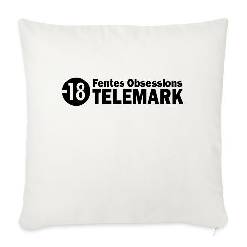 telemark fentes obsessions18 - Coussin et housse de 45 x 45 cm