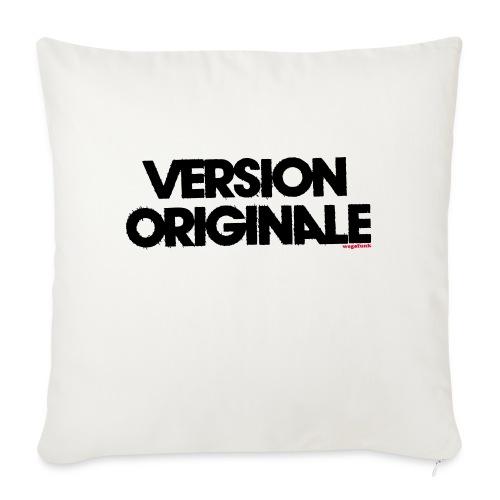 Version Original - Coussin et housse de 45 x 45 cm