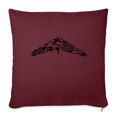 hanggliding pattern - Sofa pillow with filling 45cm x 45cm