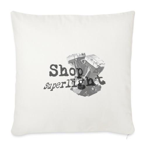 ShopSuperlight Logo stor - Sofapude med fyld 44 x 44 cm