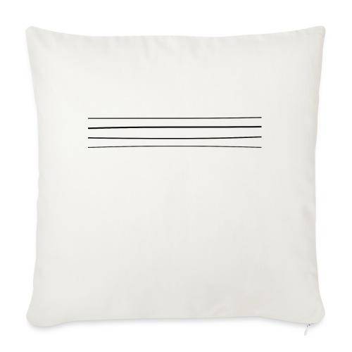 Re-entrant Womens White Tshirt - Sofa pillow with filling 45cm x 45cm