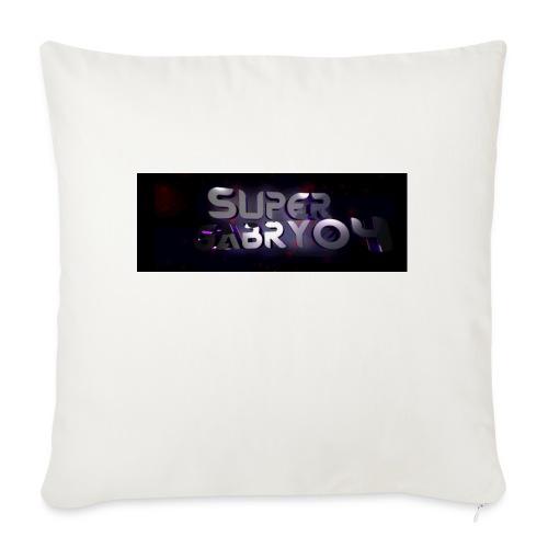 SUPERGABRY04 - Cuscino da divano 44 x 44 cm con riempimento