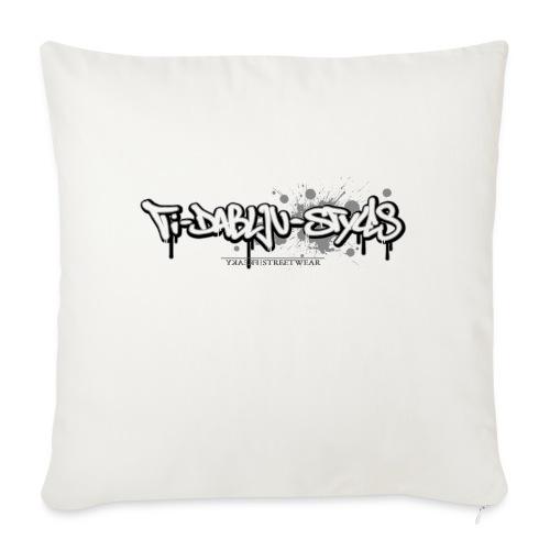 ti-dablju-styles_Logo - Sofakissen mit Füllung 44 x 44 cm