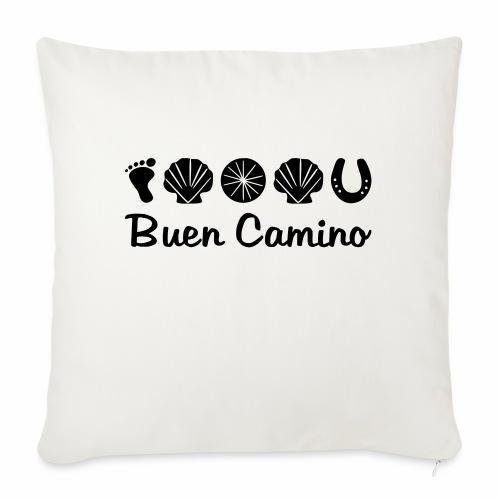 Buen_Camino_4 - Sofakissen mit Füllung 44 x 44 cm