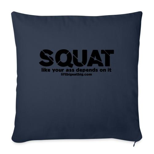 squat - Sofa pillow with filling 45cm x 45cm