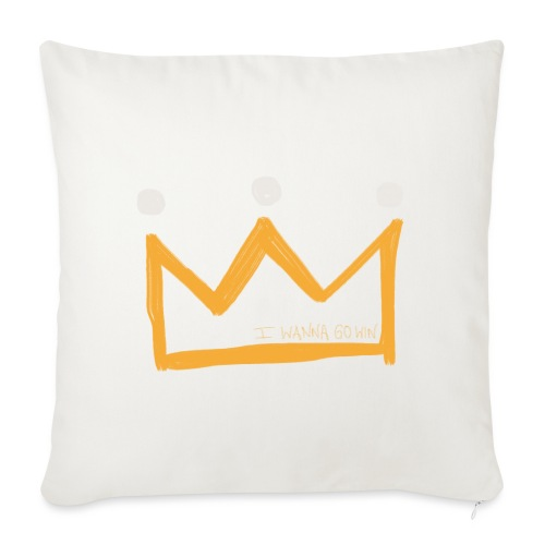 I Wanna Go Win Crown - Shadow - Sofa pillow with filling 45cm x 45cm