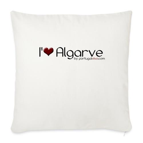 I Love Algarve - Coussin et housse de 45 x 45 cm