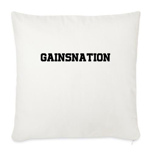 Kortärmad tröja Gainsnation - Soffkudde med stoppning 44 x 44 cm