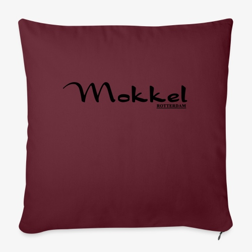 mokkel - Bankkussen met vulling 44 x 44 cm