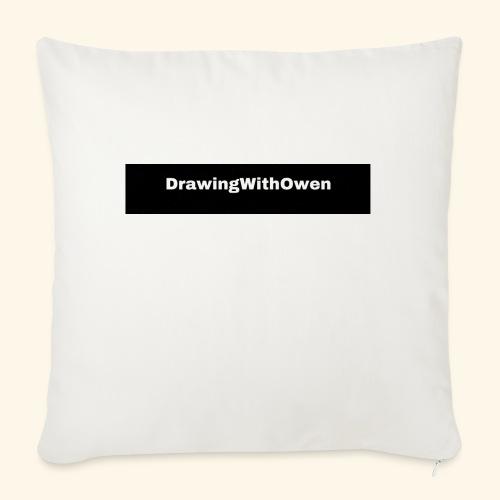 drawing with owen products - Bankkussen met vulling 44 x 44 cm