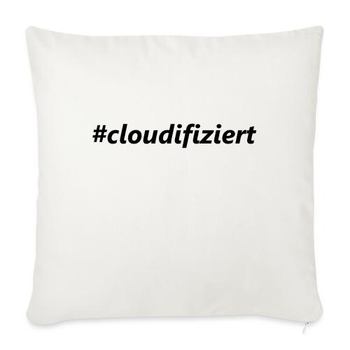 #cloudifiziert black - Sofakissen mit Füllung 44 x 44 cm
