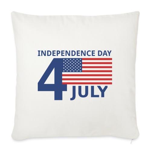 4th of July. 4 luglio - Cuscino da divano 44 x 44 cm con riempimento