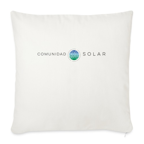 Comunidad Solar BASIC + - Cojín de sofá con relleno 44 x 44 cm