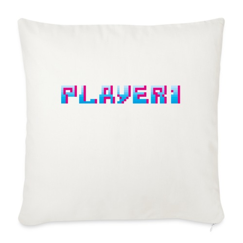 Arcade Game - Player 1 - Sofa pillow with filling 45cm x 45cm