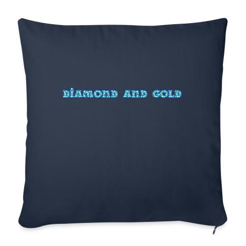 Diamond And Gold - Soffkudde med stoppning 44 x 44 cm
