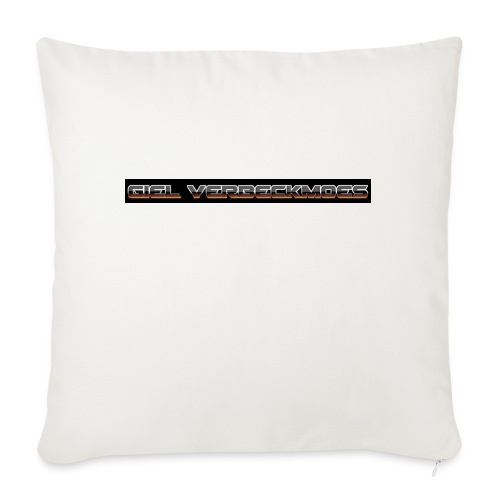 gielverberckmoes shirt - Bankkussen met vulling 44 x 44 cm