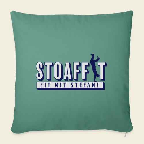 STOAFFIT - Fit mit Stefan - Sofakissen mit Füllung 44 x 44 cm