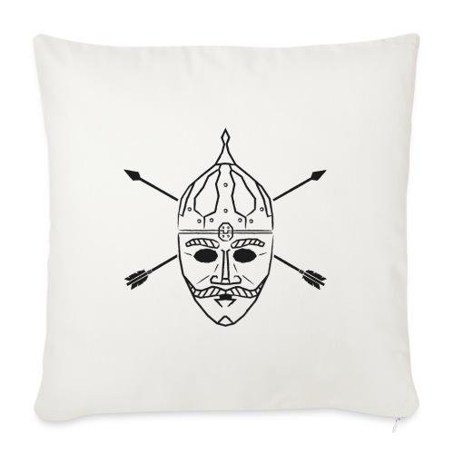 Cuman helmet with arrows - Sofa pillow with filling 45cm x 45cm