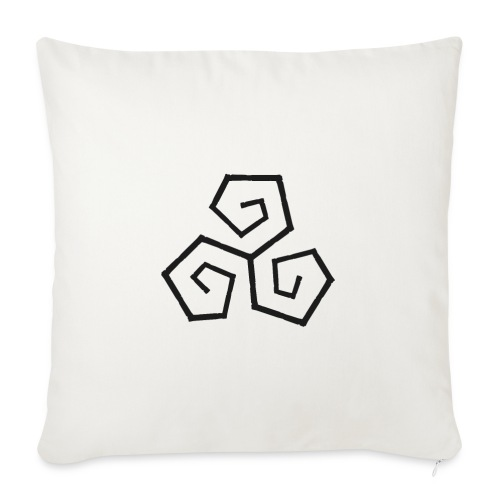 Triskele - Sofa pillow with filling 45cm x 45cm