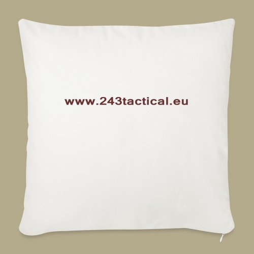 .243 Tactical Website - Bankkussen met vulling 44 x 44 cm