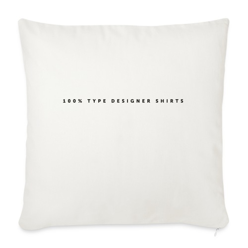 100 pct - Sofa pillow with filling 45cm x 45cm