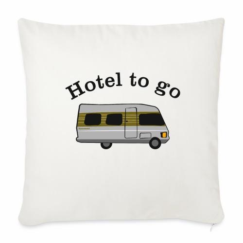 Hotel to go - Sofakissen mit Füllung 44 x 44 cm