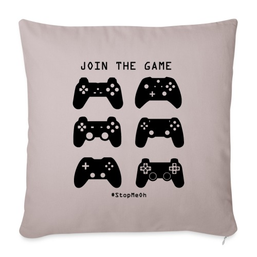 Join The Game - Sofa pillow with filling 45cm x 45cm