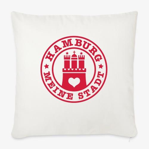 HAMBURG MEINE STADT Wappen 1c - Sofakissen mit Füllung 44 x 44 cm