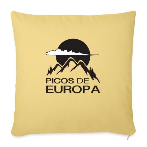 Picos de Europa - Cojín de sofá con relleno 44 x 44 cm
