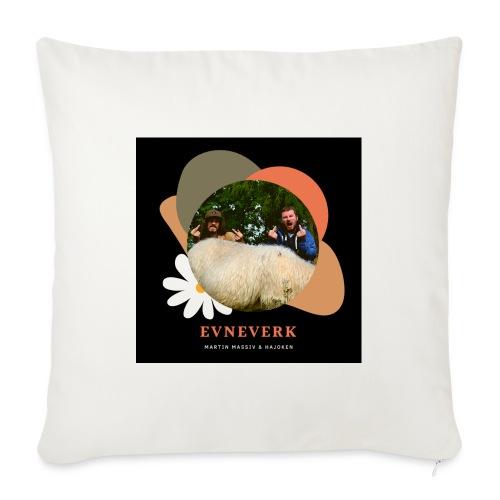 Evneverk Sheep Design - Sofapute med fylling 44 x 44 cm