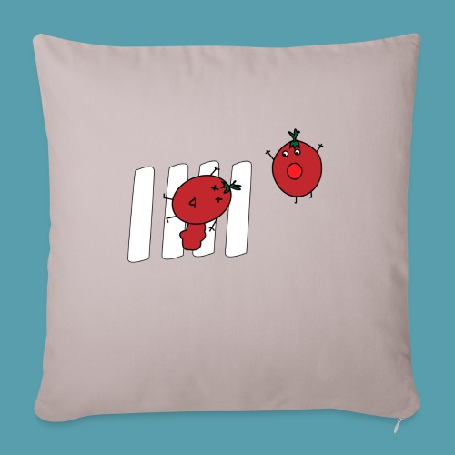tomaatit - Sohvatyynyt täytteellä 44 x 44 cm