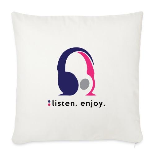 liste. enjoy. - Sofa pillow with filling 45cm x 45cm
