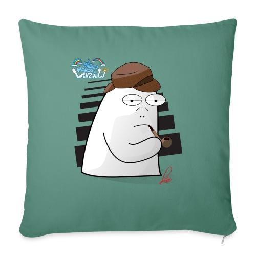 Commissario Color - Cuscino da divano 44 x 44 cm con riempimento