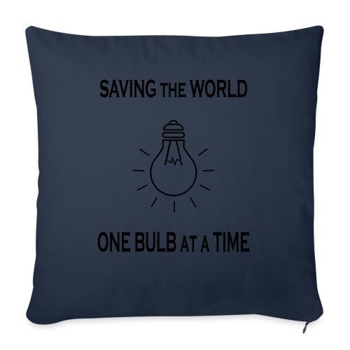 One bulb at a time - Sohvatyynyt täytteellä 44 x 44 cm