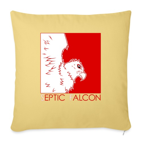 Falcon2 - Sofa pillow with filling 45cm x 45cm