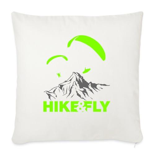 Hike & Fly Gleitschirm Vektor - Sofakissen mit Füllung 44 x 44 cm