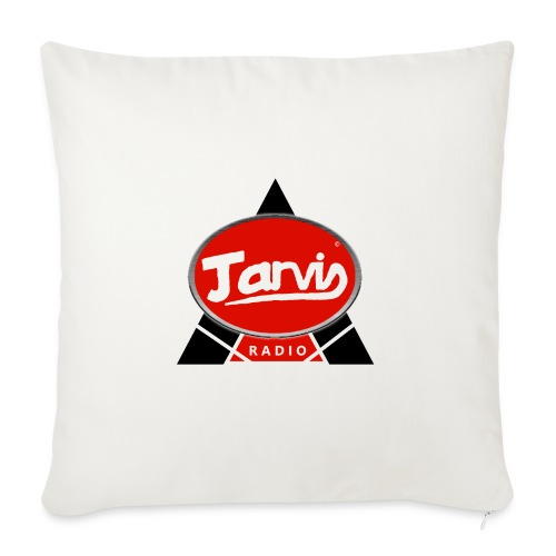 Jarvis Radio Logo - Sofa pillow with filling 45cm x 45cm