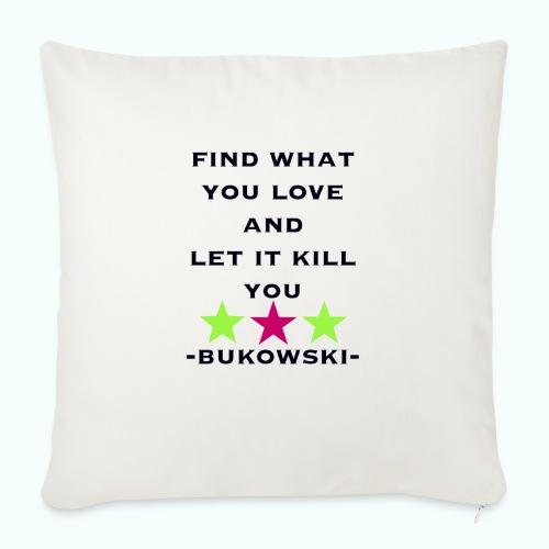 bukowski - Sofakissen mit Füllung 44 x 44 cm