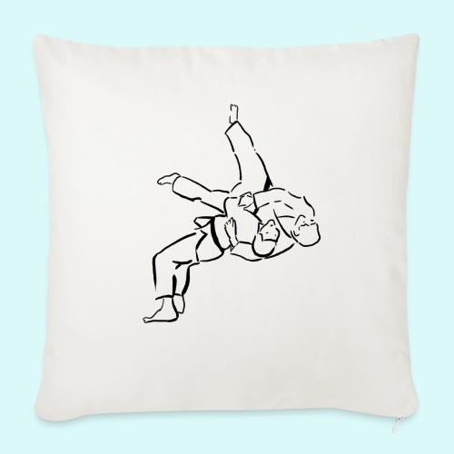 judo - Coussin et housse de 45 x 45 cm