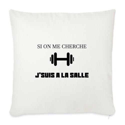 J SUIS A LA SALLE - Coussin et housse de 45 x 45 cm