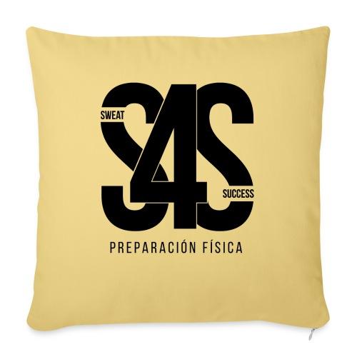 Logo Iniciales Sweat4Success - Cojín de sofá con relleno 44 x 44 cm