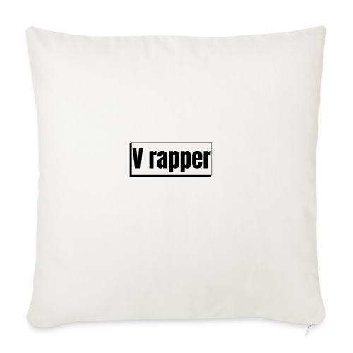 My logo - Sofa pillow with filling 45cm x 45cm