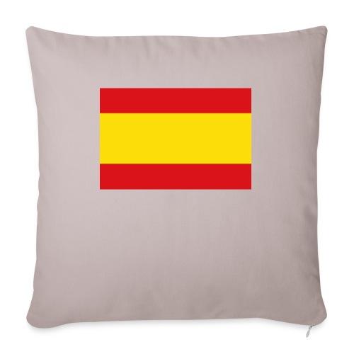 vlag van spanje - Bankkussen met vulling 44 x 44 cm