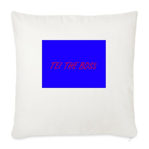 BLUE BOSSES - Sofa pillow with filling 45cm x 45cm