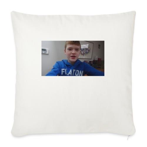 roel t-shirt - Bankkussen met vulling 44 x 44 cm