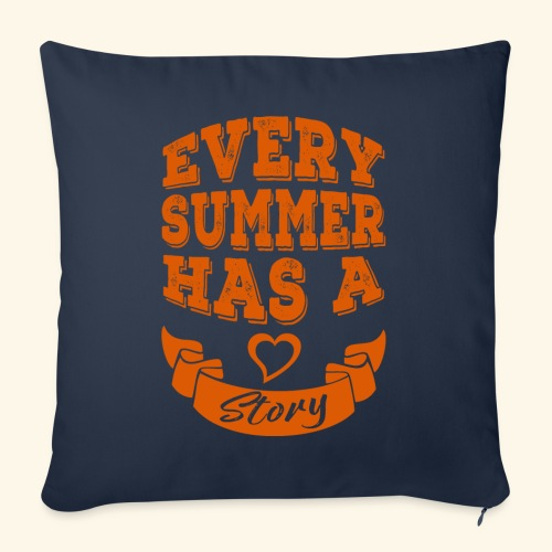 Every summer has a story - Sofa pillow with filling 45cm x 45cm