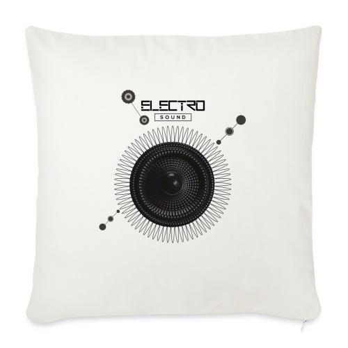 Electro Sound - Cuscino da divano 44 x 44 cm con riempimento